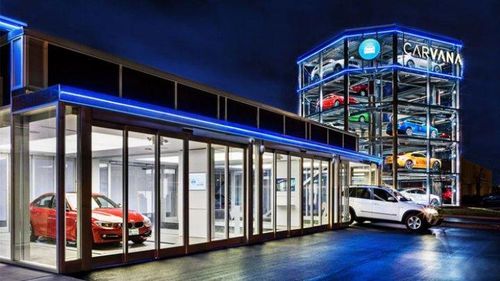 В Китае открыли торговый автомат по продаже автомобилей