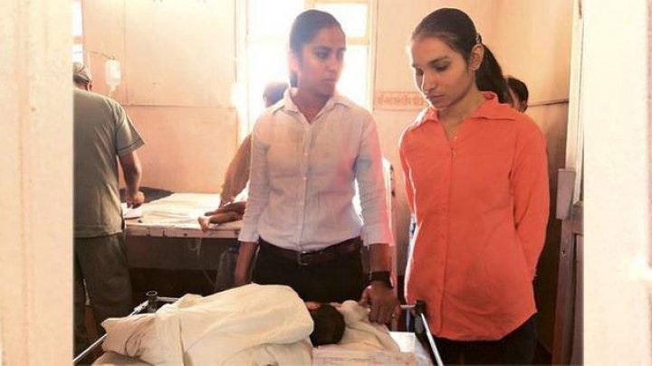 11-летняя школьница, которую изнасиловали шесть рабочих, родила больную девочку