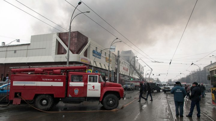 Прохожие плакали от бессилия: очевидец о пожаре в торговом центре в Кемерове