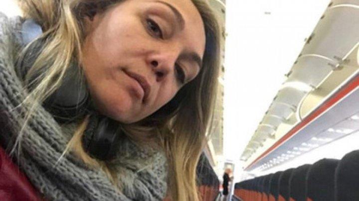 Парализованную британскую телеведущую забыли в самолете