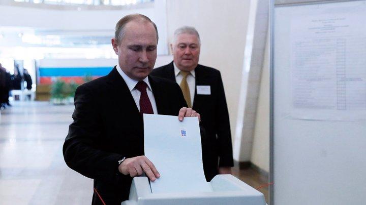 Владимир Путин проголосовал на выборах главы государства