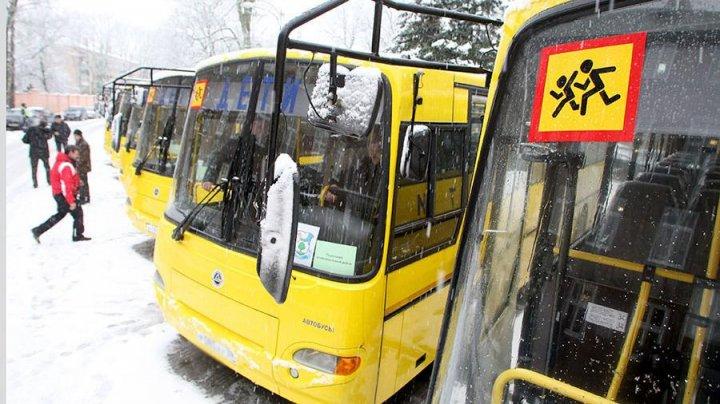 Автобус со школьниками попал в ДТП в Азербайджане