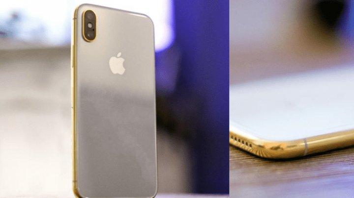 Apple выпустит золотой iPhone X