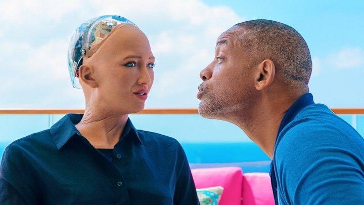 Уилл Смит сходил на провальное свидание с роботом Софией