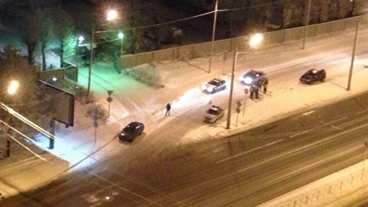 В Санкт-Петербурге неизвестные на Hummer обстреляли из автомата инспекторов ГИБДД