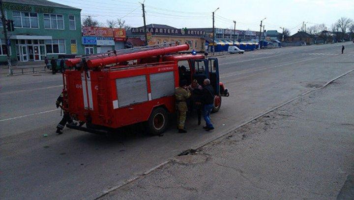 На Украине загорелась Приднепровская ТЭС