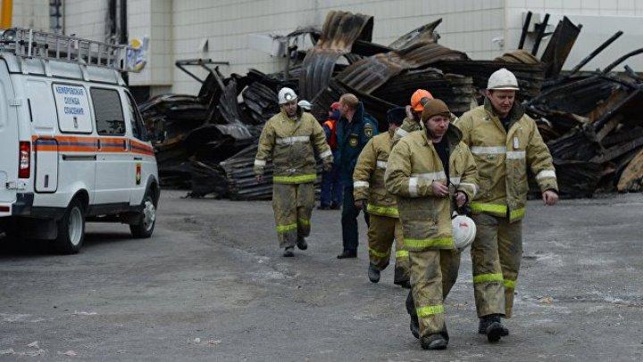 МЧС: ставший фигурантом дела о пожаре в ТЦ Кемерова сотрудник действовал строго по уставу