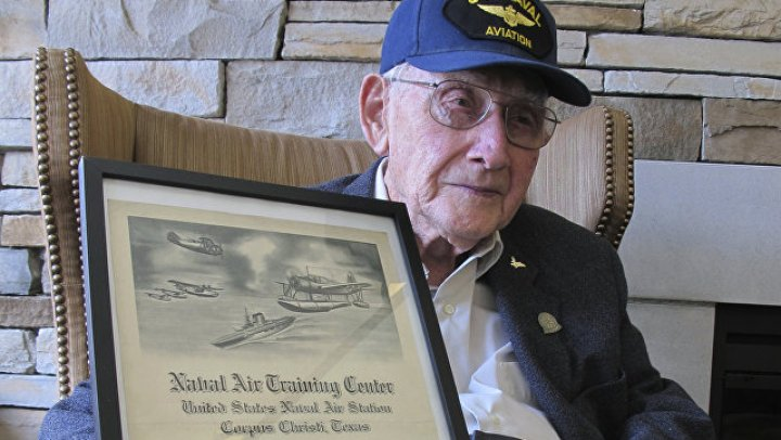 """В США ветеран """"случайно"""" закончил университет в 96 лет"""