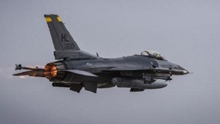 В США разбился истребитель F-16, пилот погиб