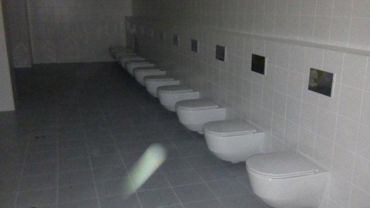 Чемпионат Мира-2018: на стадионе построили туалет без перегородок (фото)