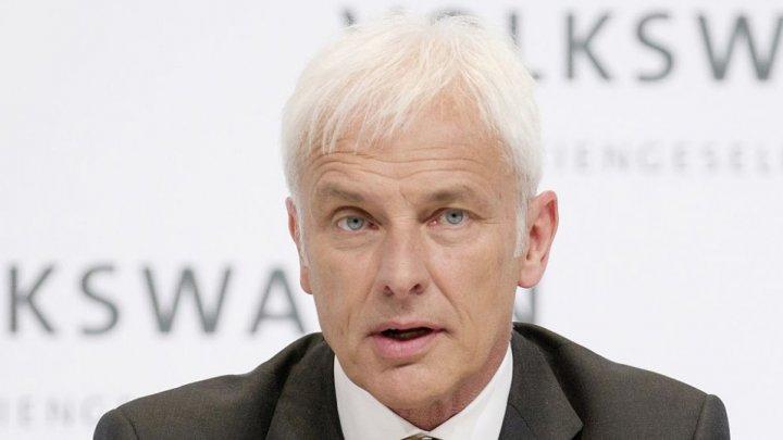Глава Volkswagen Маттиас Мюллер покидает компанию
