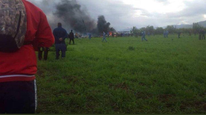 Названа предварительная причина крушения военного самолёта в Алжире
