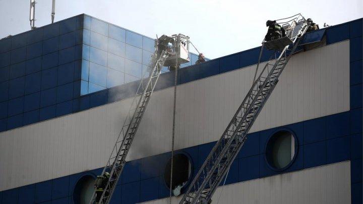 Открытое горение в детском ТЦ «Персей» на востоке Москвы ликвидировано
