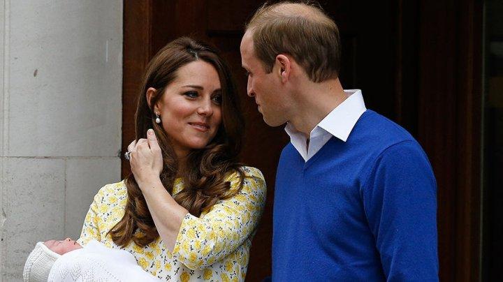У Кейт Миддлтон и принца Уильяма родился третий ребенок