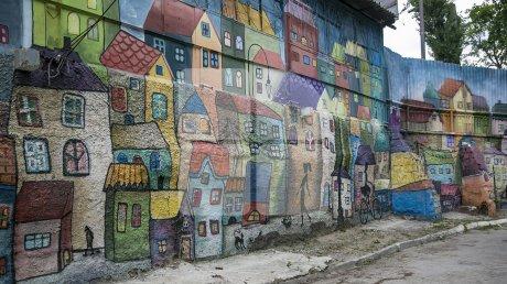 Невероятное граффити появилось в столице: фото