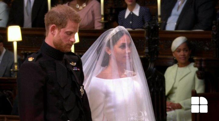 Принц Гарри и Меган Маркл обменялись клятвами: фото