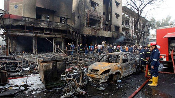 При взрыве в Ираке погибли семь человек