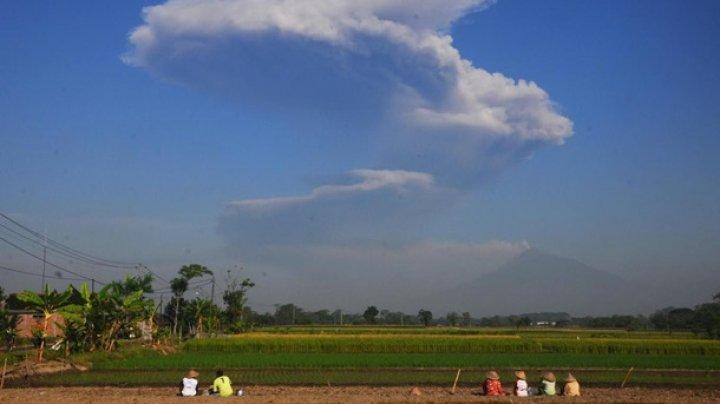 В Индонезии произошло извержение вулкана Мерапи