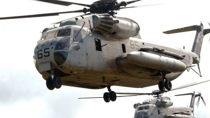 В США вертолет уронил на школу ящик с боеприпасами
