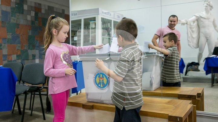 Избирательная явка в Кишинёве превысила 200 000 человек