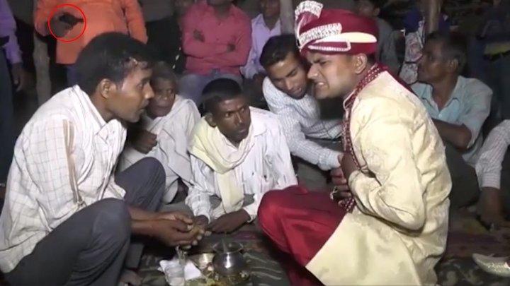 В Индии жениха застрелили прямо на свадьбе