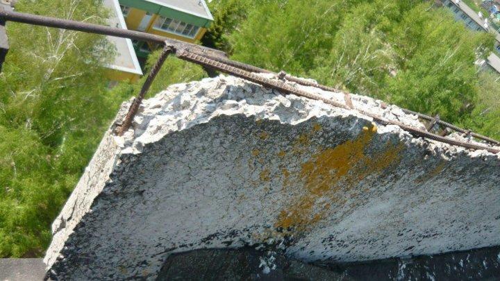 В Тамбове завели дело после падения на голову школьницы бетонной плиты