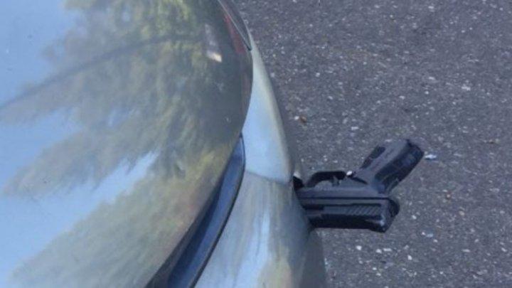 В Вашингтоне столкнулись автомобиль и летящий пистолет