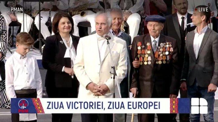 Евгений Дога поздравил граждан Молдовы с 9 мая