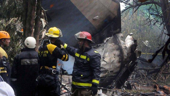 Одна из трех выживших в авиакатастрофе на Кубе скончалась от травм