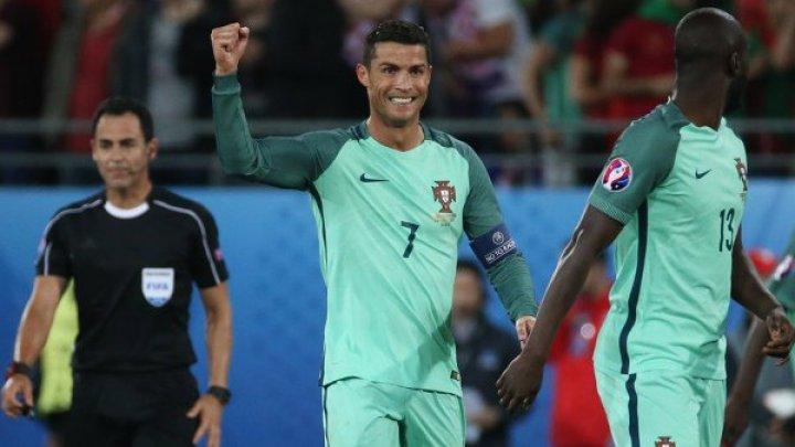 Роналду станцевал на тренировке сборной Португалии
