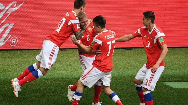 Сборная России разгромила Саудовскую Аравию 5:0 в матче открытия ЧМ по футболу