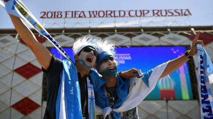Аргентинский фанат со слезами извинился за оскорбление россиянки