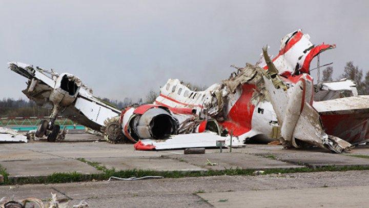 В Польше заявили, что нашли следы взрывчатки на обломках Ту-154 Качиньского