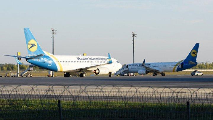 В двух киевских аэропортах одновременно произошли ЧП с самолетами: видео