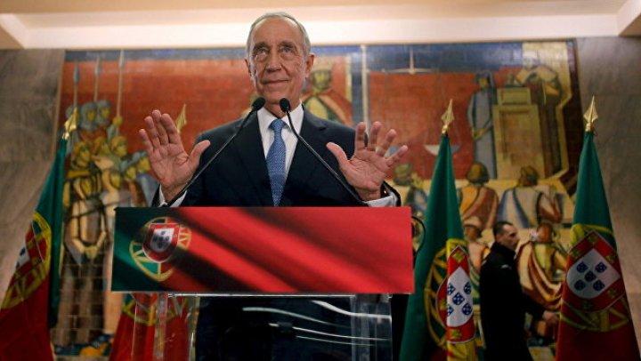 Президент Португалии прибыл в Москву поддержать сборную своей страны