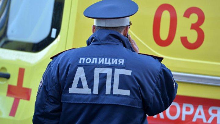 В Тюмени семь человек пострадали в ДТП с участием маршрутки и грузовика
