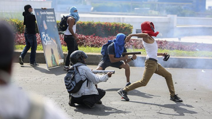 В Никарагуа число погибших в ходе акций протеста достигло 154