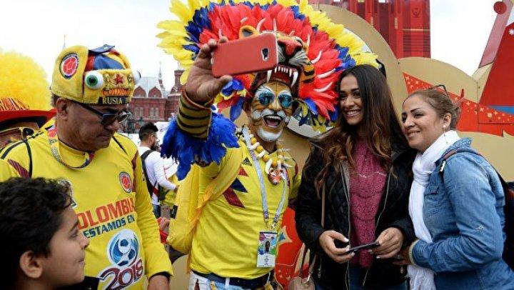 Болельщик сборной Мексики сделал предложение девушке в фан-зоне в Москве