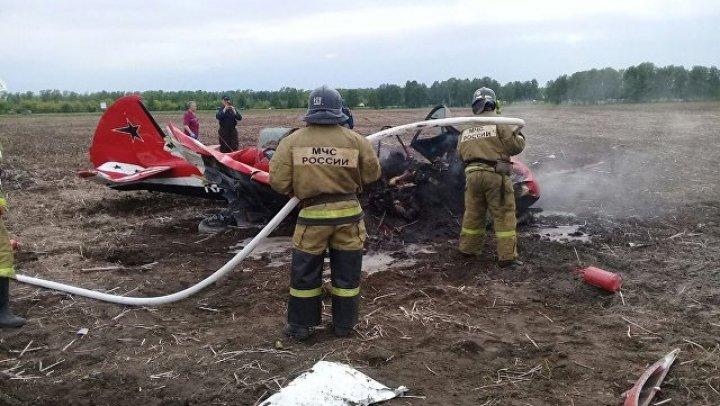 В катастрофе Як-52 на Алтае погиб чемпион России по высшему пилотажу
