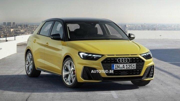 Стало известно, как будет выглядеть самый маленький Audi