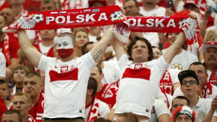 Болельщики сборной Польши в ожидании старта своей команды на ЧМ по футболу