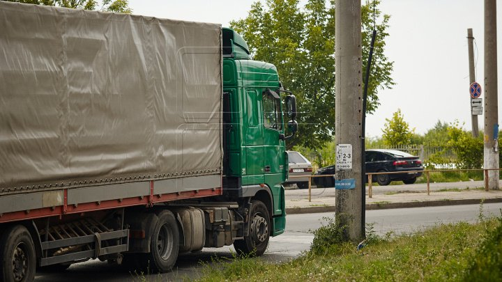 Движение грузового транспорта по национальным дорогам будет ограничено