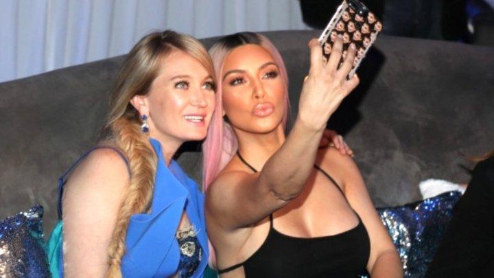 Ким Кардашьян пообещала миллиардерше с Украины сделать её знаменитой