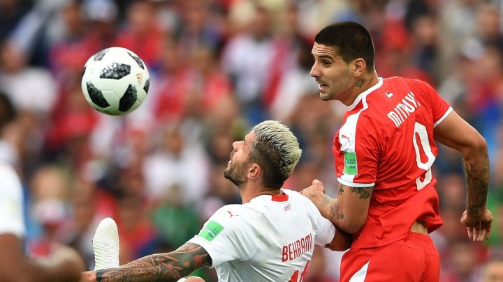 ЧМ-2018: Швейцария обыграла Сербию 2:1