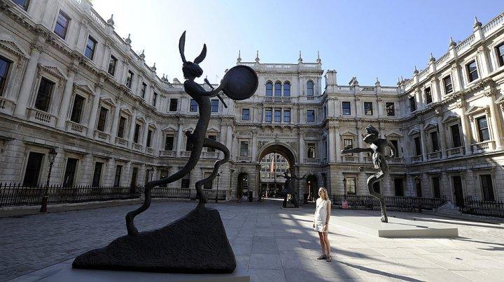 Королевская академия отказалась выставлять картину Banksy из-за псевдонима