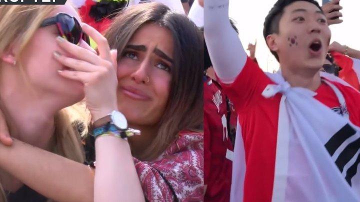 Немецкие болельщики плакали после поражения сборной на ЧМ-2018