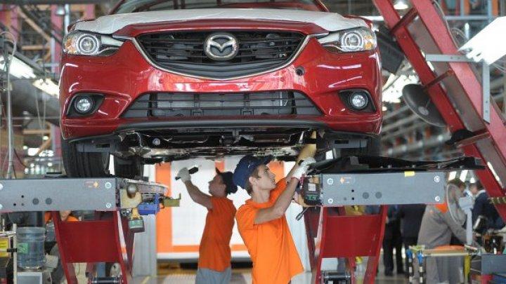 В Японии остановились заводы Mazda и Mitsubishi