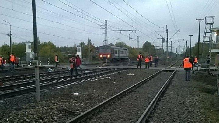 Поезд сошел с путей в Одесской области