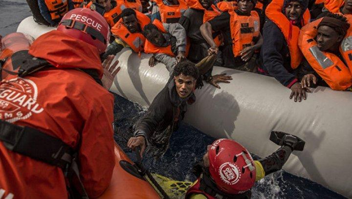 У берегов Ливии спасли более 600 мигрантов
