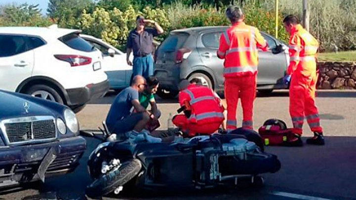 Авария с участием Джорджа Клуни попала на видео
